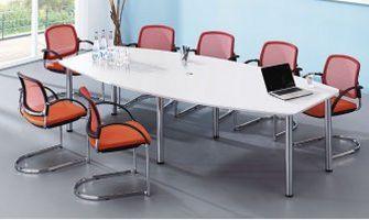 10-Personen-Konferenztisch robust und preiswert
