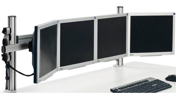 Monitor-Schreibtischhalterung 4 Computermonitore