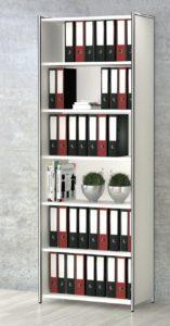 offener Büro-Regalschrank mit 6 Regalfächer