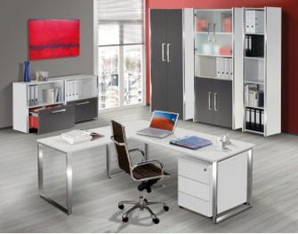 günstige Büromöbel mit Aufbauservice