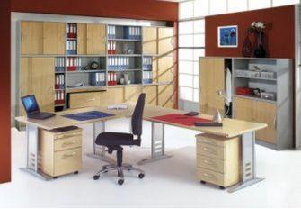 frei gestaltbare Bürozimmereinrichtung