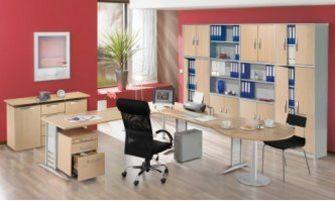 robuste und erweiterbare Büro-Schrankwand