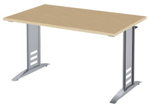 Schreibtisch große Kabelwanne für Mehrfachsteckdosen