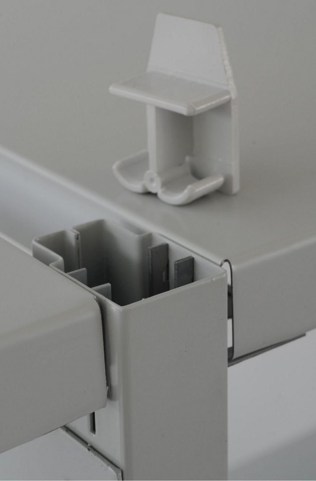 schraubloses Metall-Steckregal