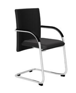 Konferenzimmer-Stuhl bis 130 kg belastbar