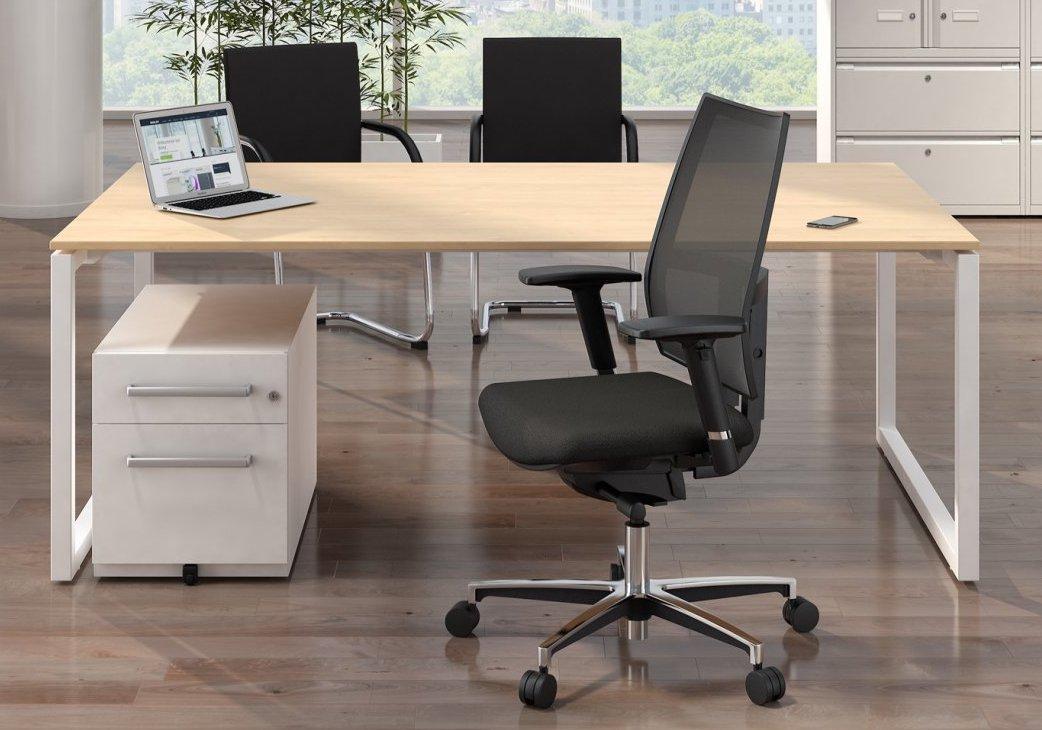 preiswerters Chefzimmer-Möbelset mit Tisch und Stühlen