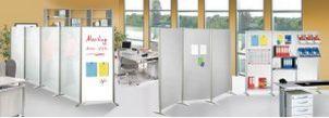 robuste und individuell erweiterbare Stellwand / Trennwand