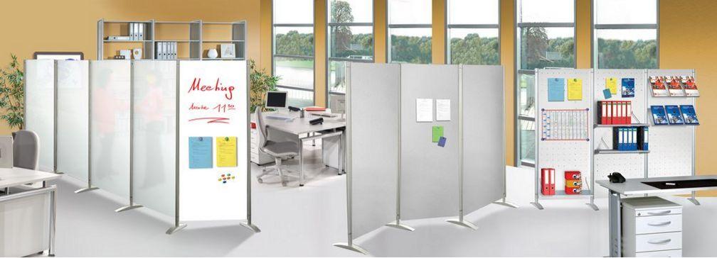 Büro-Raumteiler mit Schalldämmung