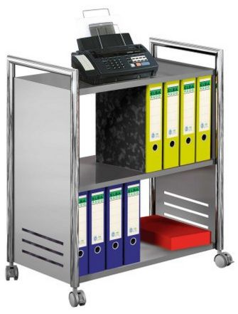 Büromaterial-Rollwagen
