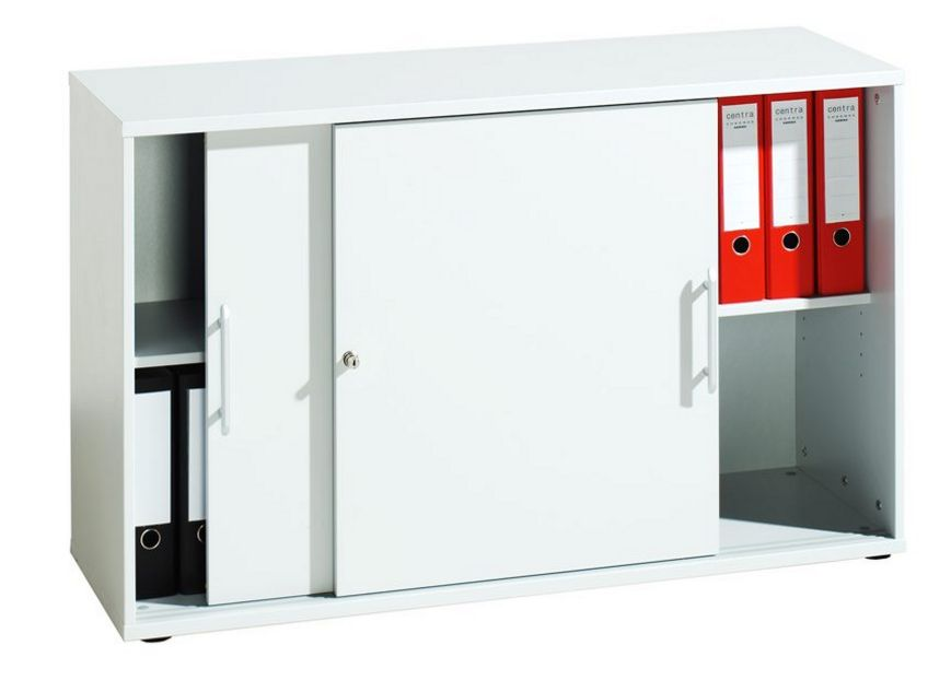 stapelbarer Schiebetüren-Büroschrank abschließbar