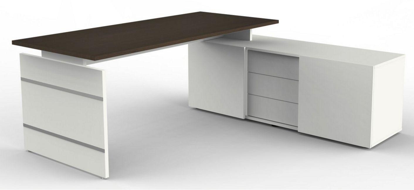 Büroschrank mit Auflagenschreibtisch