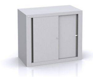 Büro-Stahlschrank Schiebetüren sicher abschließbar