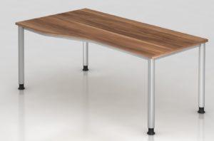 EDV-Schreibtisch Arbeitshöhe von 68 bis 76 cm stufenlos einstellbar