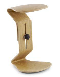 stabiler Schreibtisch-Sitzhocker