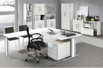weiße Büromöbel preiswert