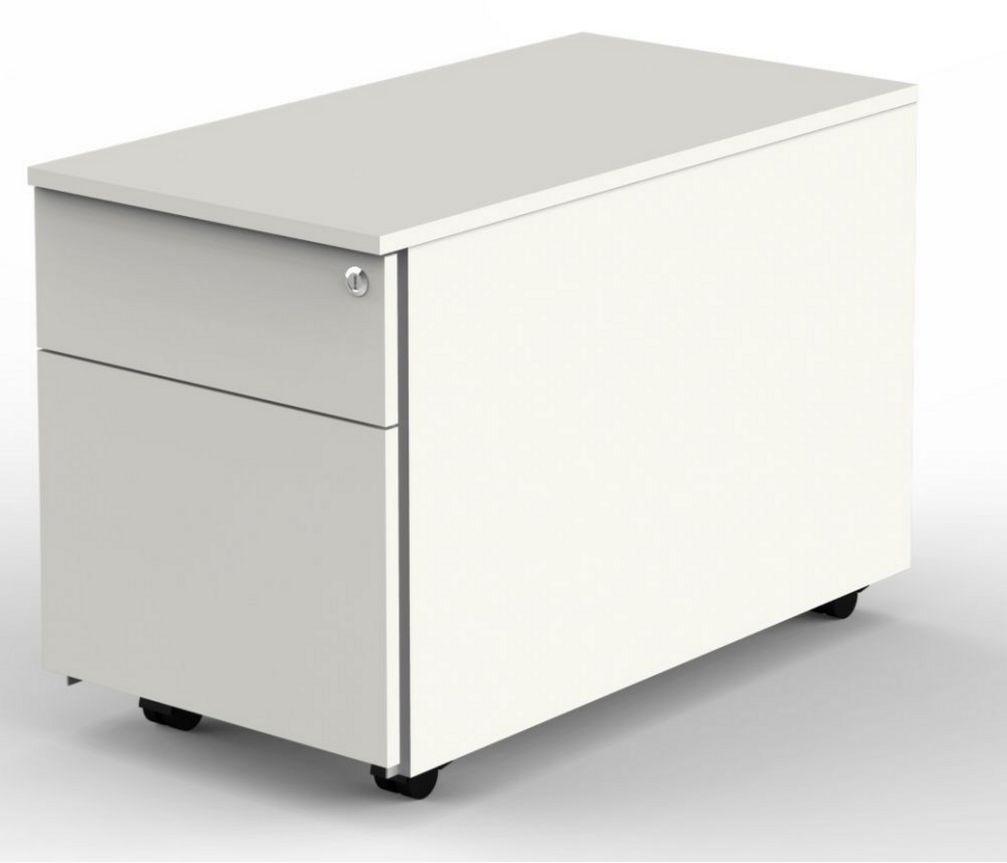 abschließbare Schreibtischcontainer mit Laufrollen