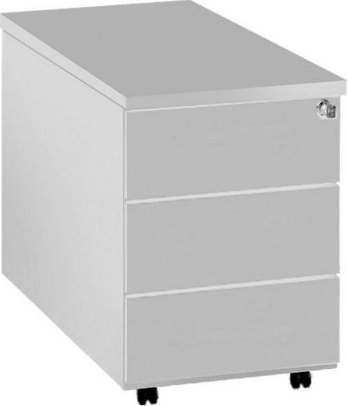 Schreibtisch-Rollcontainer abschließbar