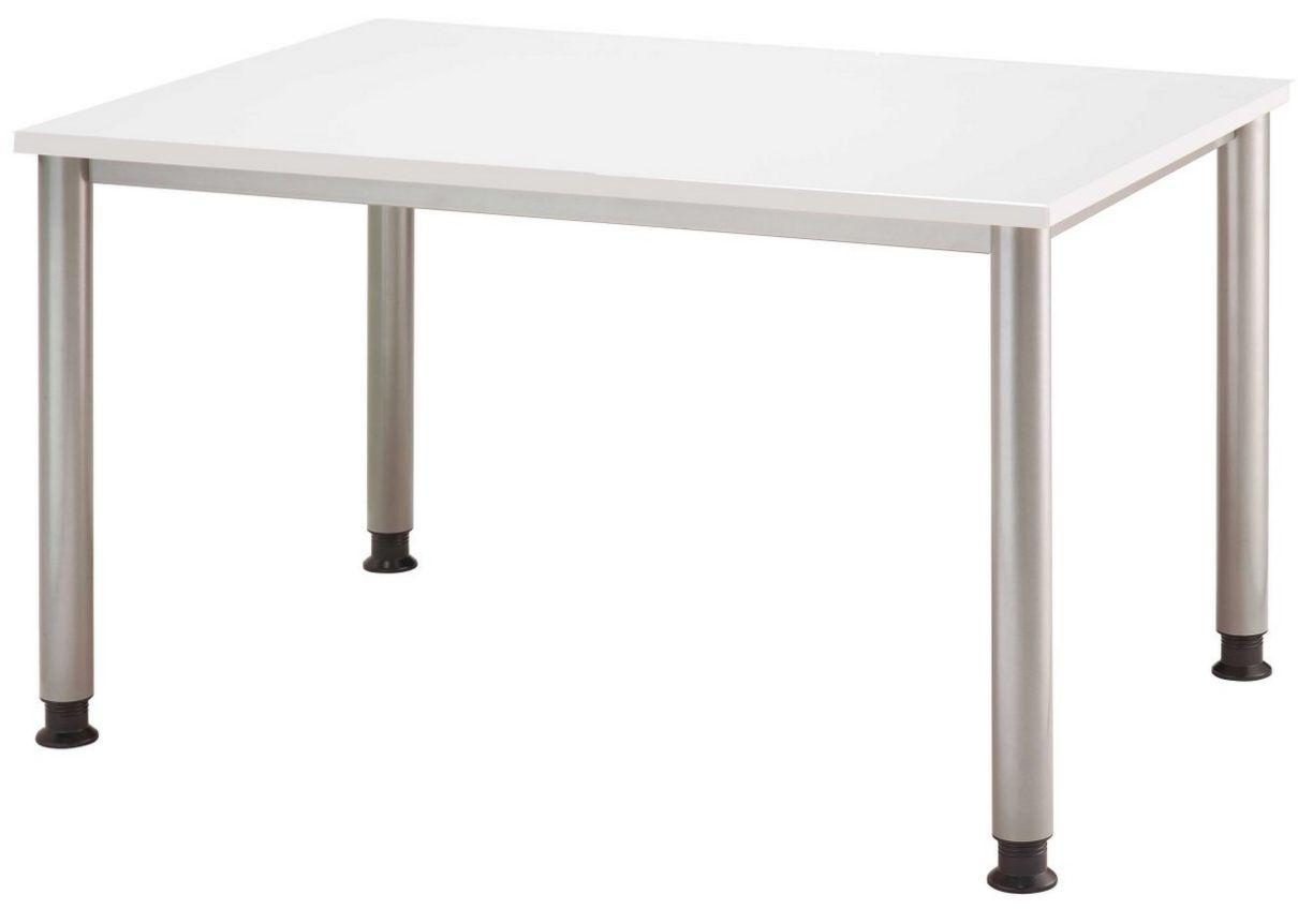 robuster Schreibtisch höhenverstellbar