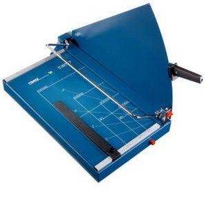 sichere Folien-Kartonage-Papierschneidemaschine
