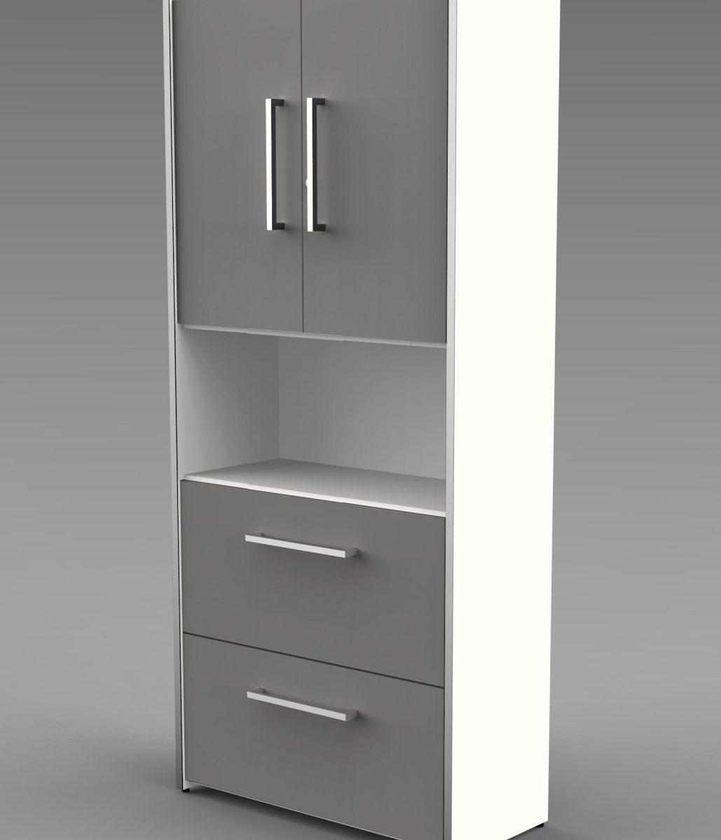 Büroschrank mit Türen und Hängeregisterschubladen
