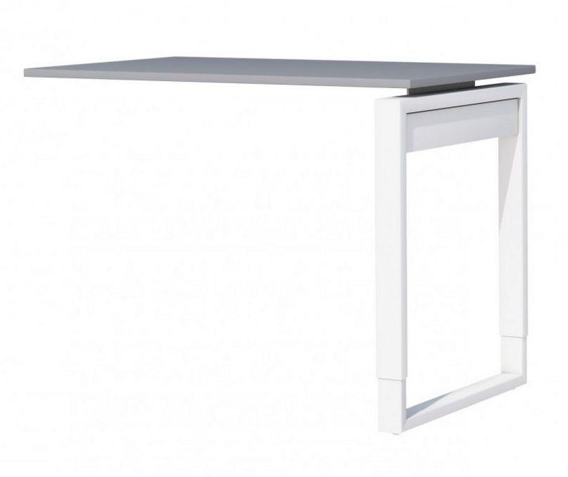 Schreibtisch höhenverstellbares Stahlgestell