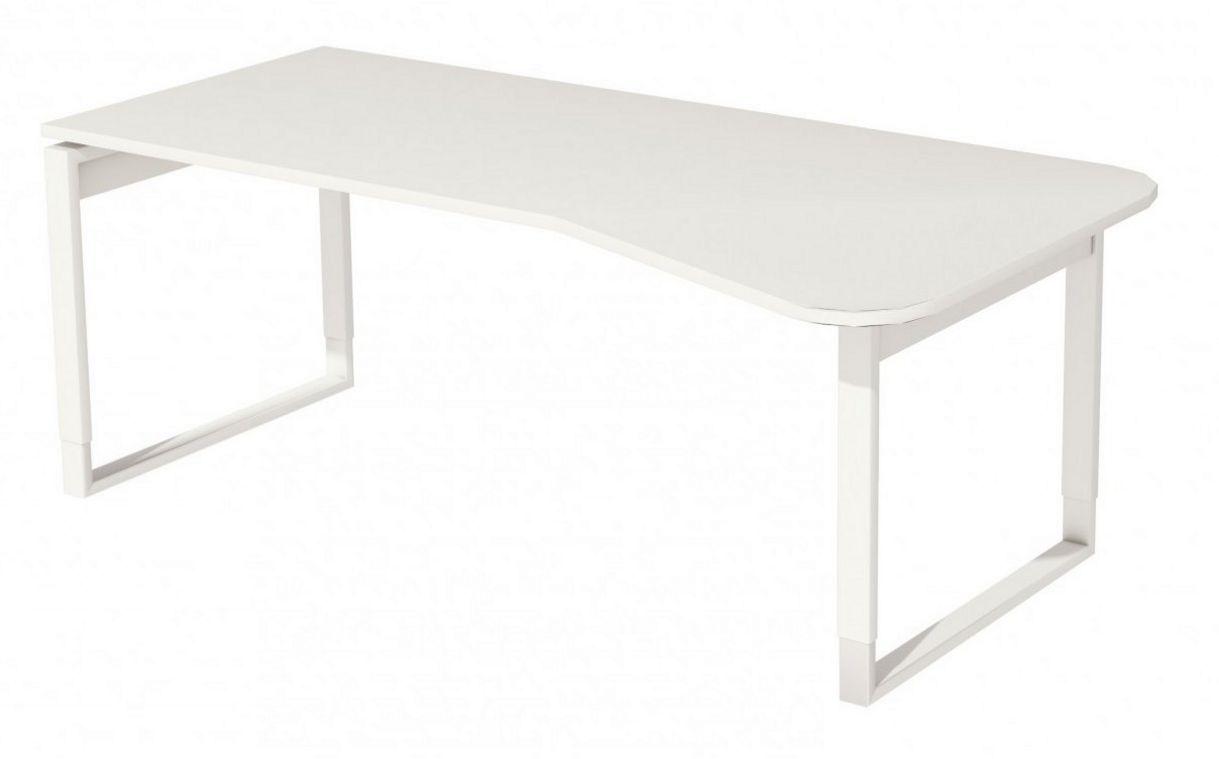 EDV-Schreibtisch mit Kabelkanal unterhalb der Tischplatte