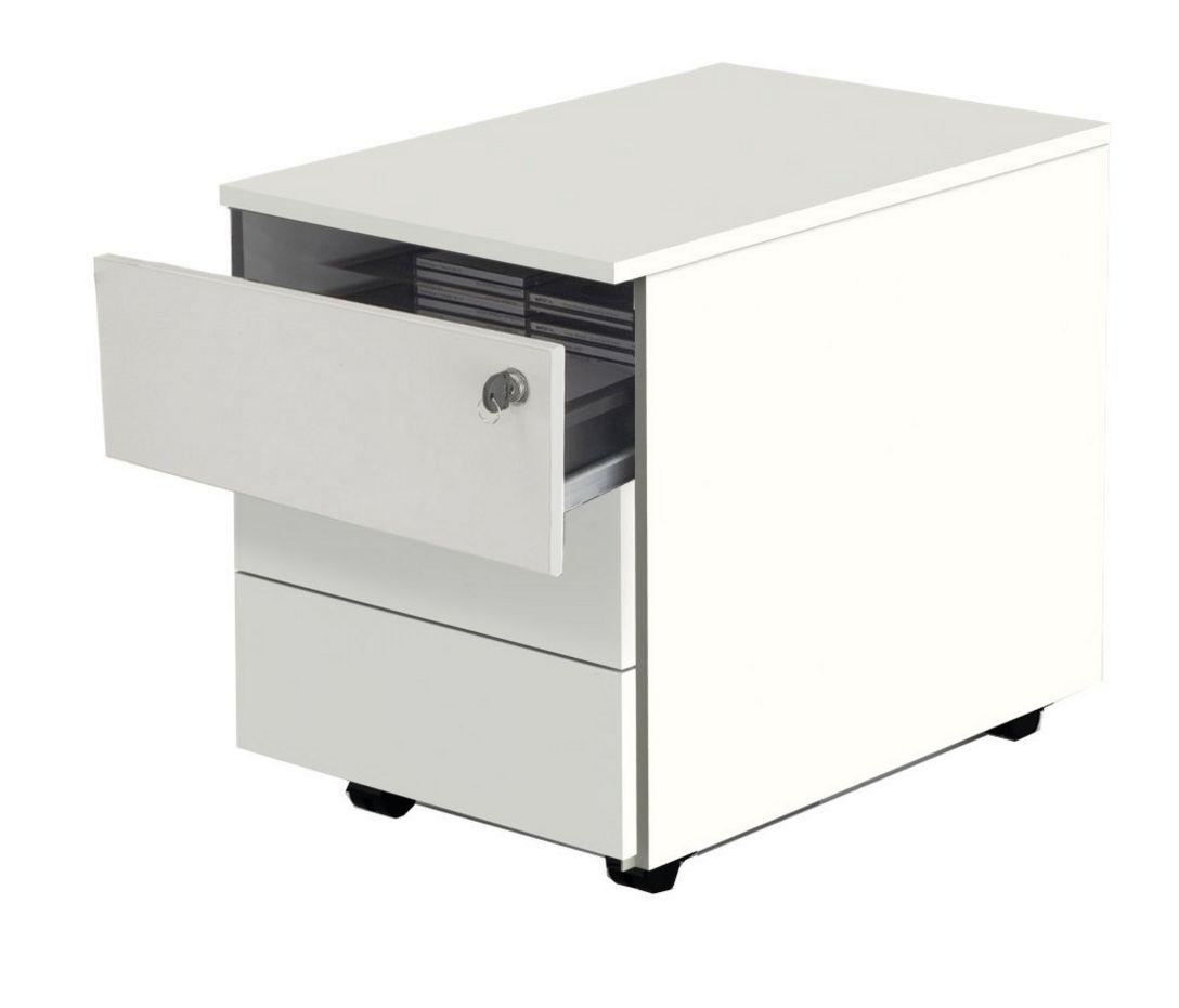 preiswerte Schreibtischrollcontainer abschließbar Selbsteinzug