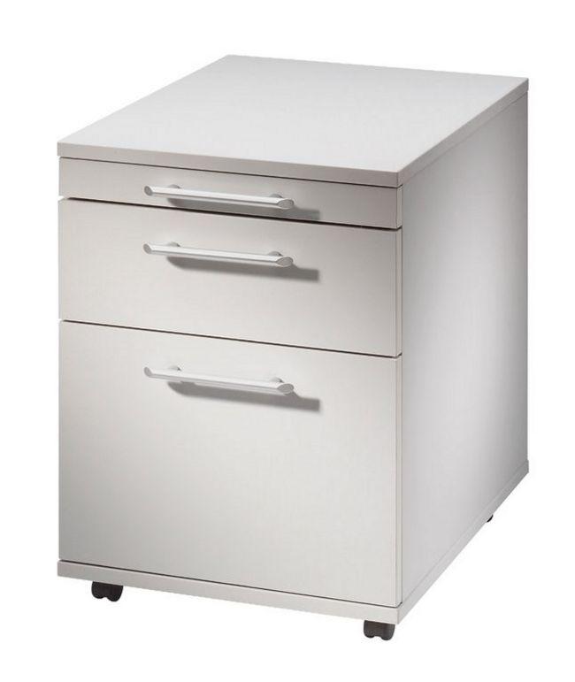 hochwertiger Schreibtisch-Rollcontainer mit Hängeregisterschublade