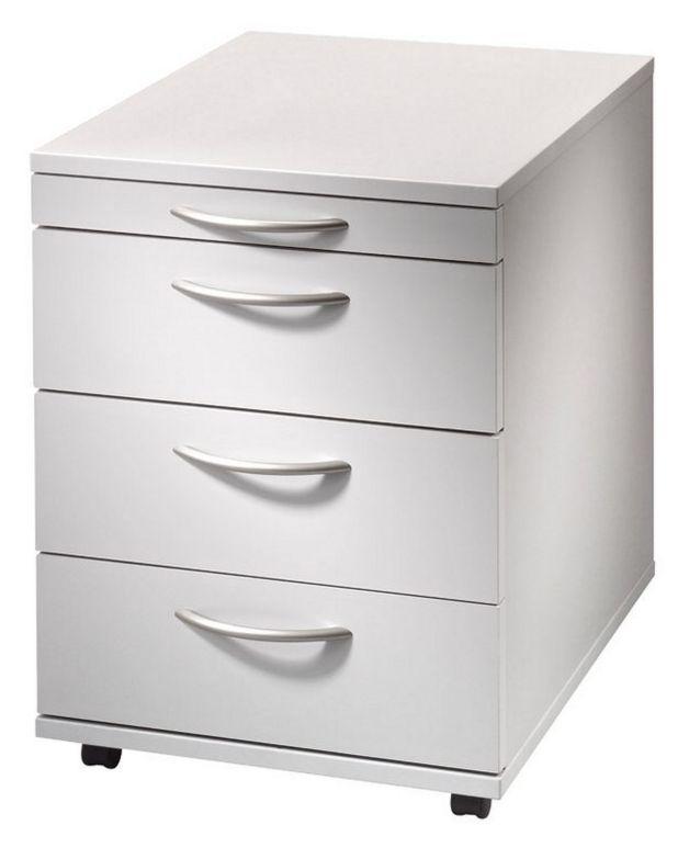 preiswerter Schreibtisch-Rollcontainer mit Stiftablage