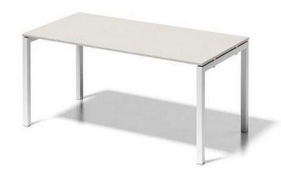 Schreibtisch 160 x 80 cm Stahlgestell