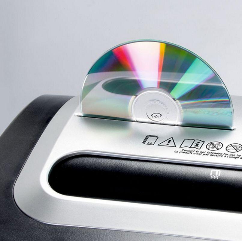 günstiger-Aktenvernichter Schredderfunktion für CDs-DVDs