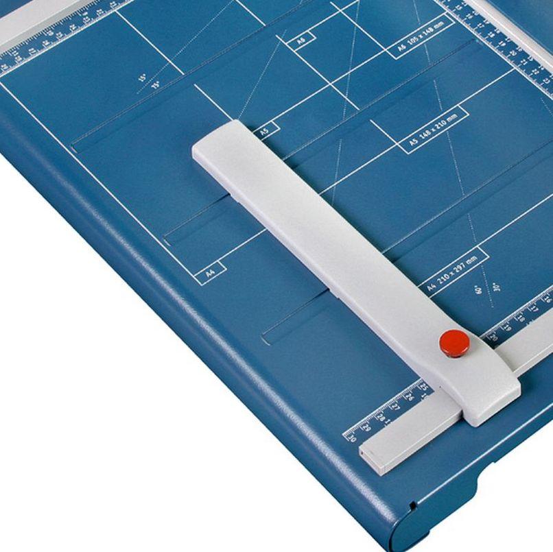 Papierschneidetisch Papierformat-Hilfslinien