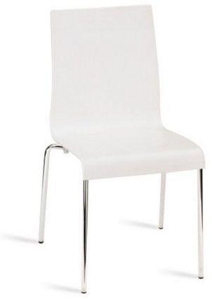stapelbarer Objektstuhl mit abwaschbarem Hartplastiksitz
