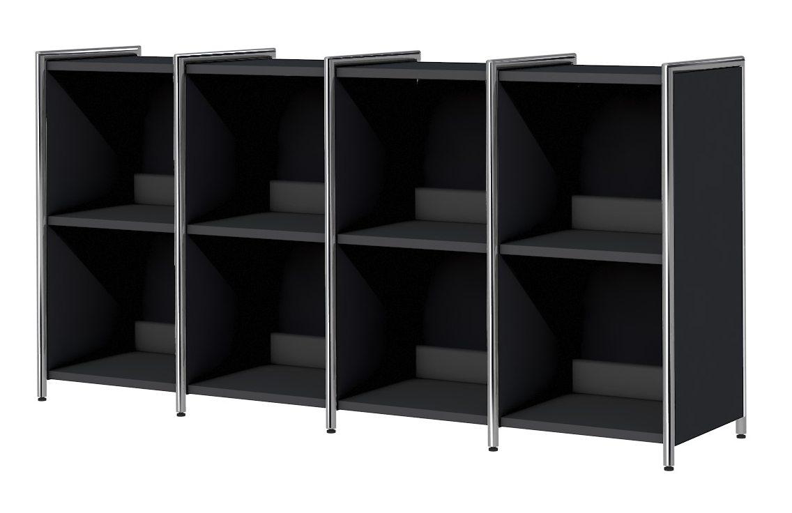 offenes Bürosideboard mit 8 Regalfächer