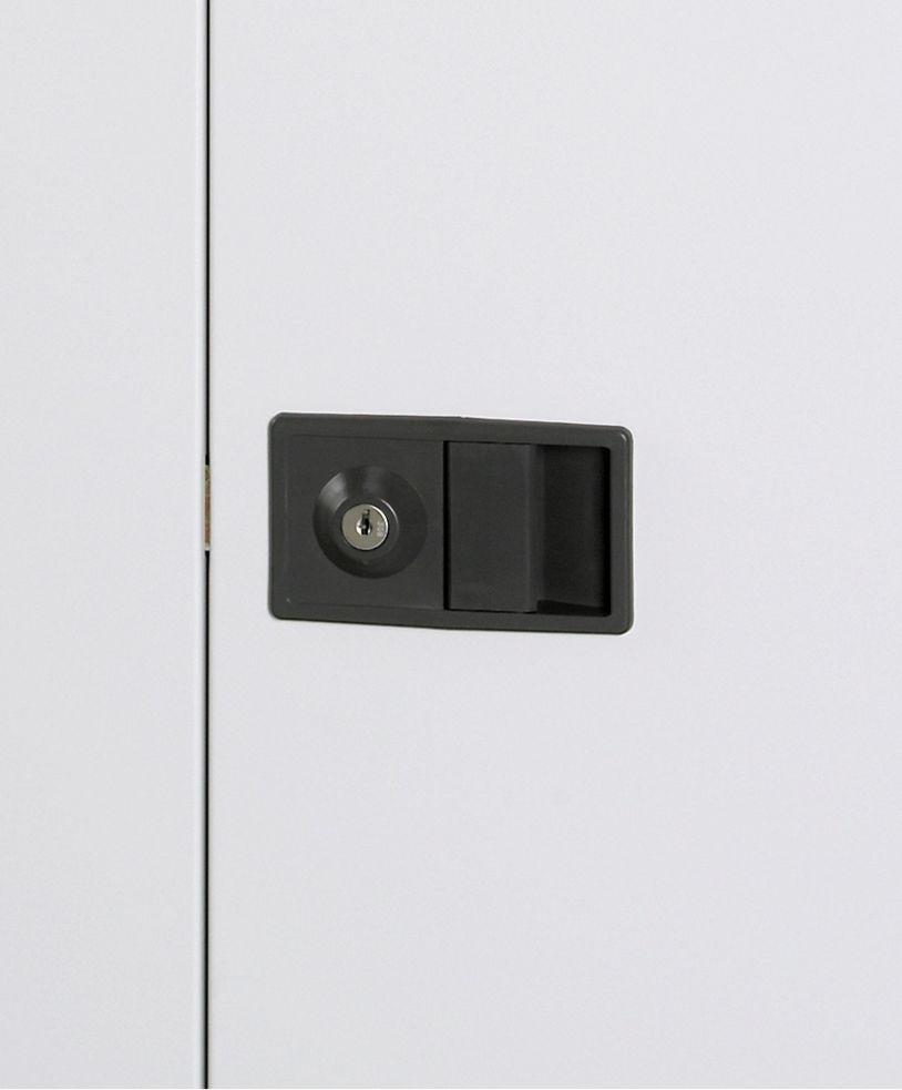 Stahl-Büroschrank Metallböden verzinkt