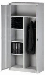 abschließbarer Garderoben-Stahlschrank