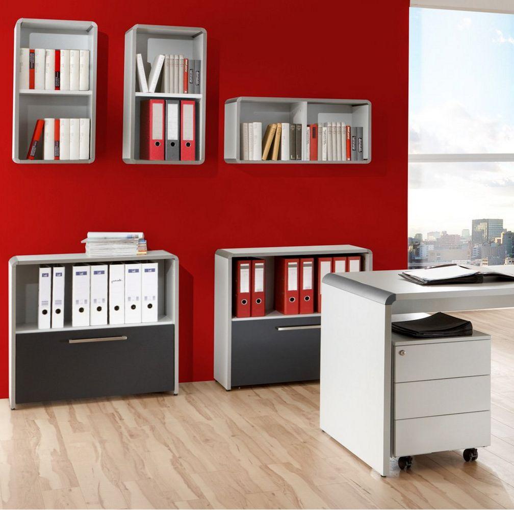 elegante Büro-Wandregale