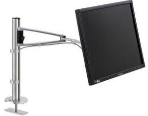 höhenverstellbare-drehbare Monitor-Tischhalterung
