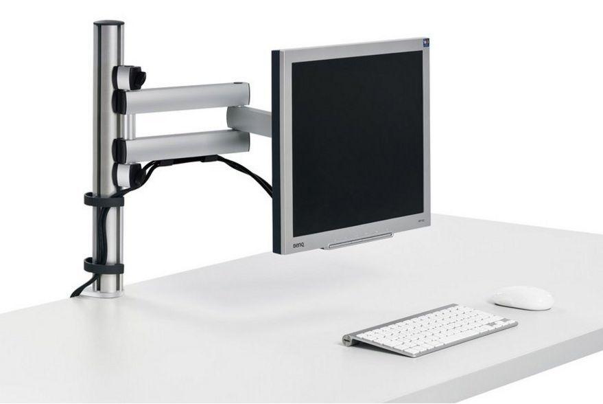 Schreibtisch-Monitorhalterung dreigelenkigen-höhenverstellbaren Schwenkarm
