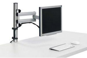 monitor halterung tisch