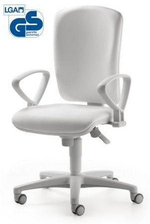 weißer Schreibtischstuhl für die Arztpraxis