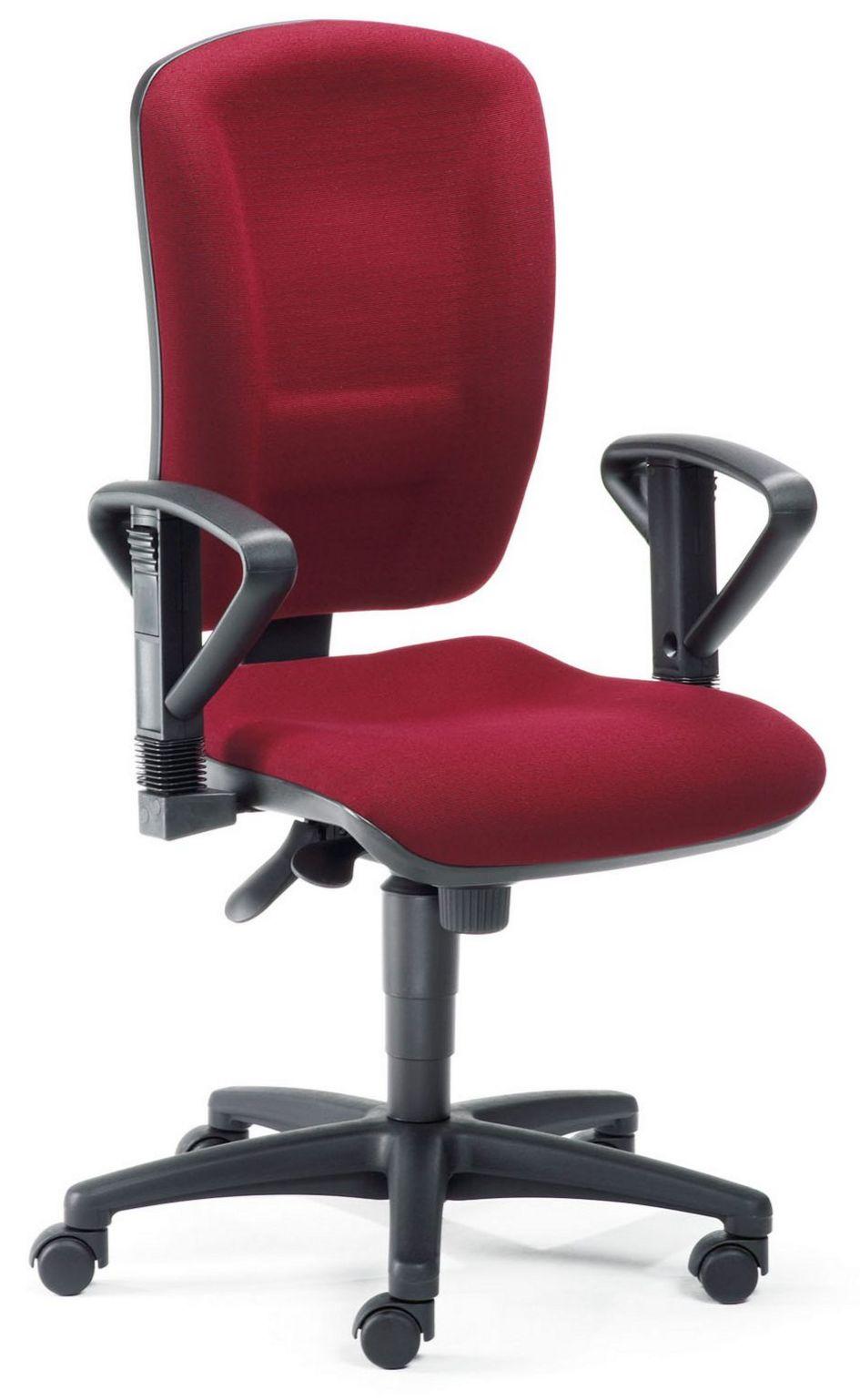 Schreibtischstuhl mit Bandscheibensitz