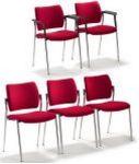 Veranstaltungsstuhl stapelbar und Stuhlverbinder