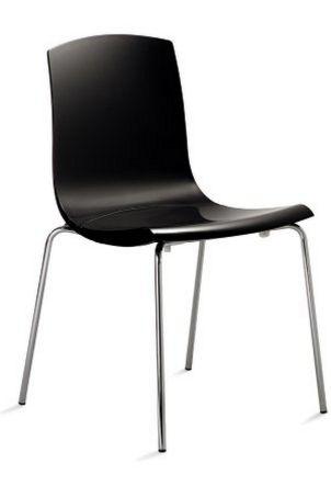 Hartschalensitz-Wartezimmerstuhl robust und preiswert