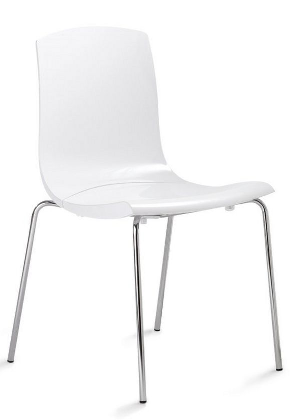 Wartezimmerstuhl abwaschbaren Hartschalensitz