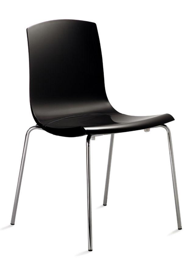 Wartezimmerstuhl leicht desinfizierbarem Hartschalensitz