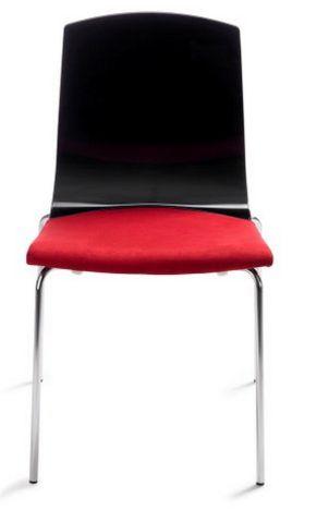 objekttauglicher Veranstaltungsstuhl mit Hartschalensitz