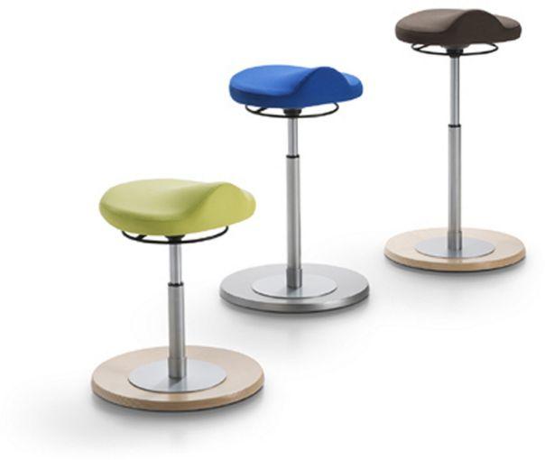 Pendelhocker Sitzhöheneinstellung 37 bis 80 cm