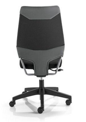 preiswerter Schreibtischstuhl grau-schwarz