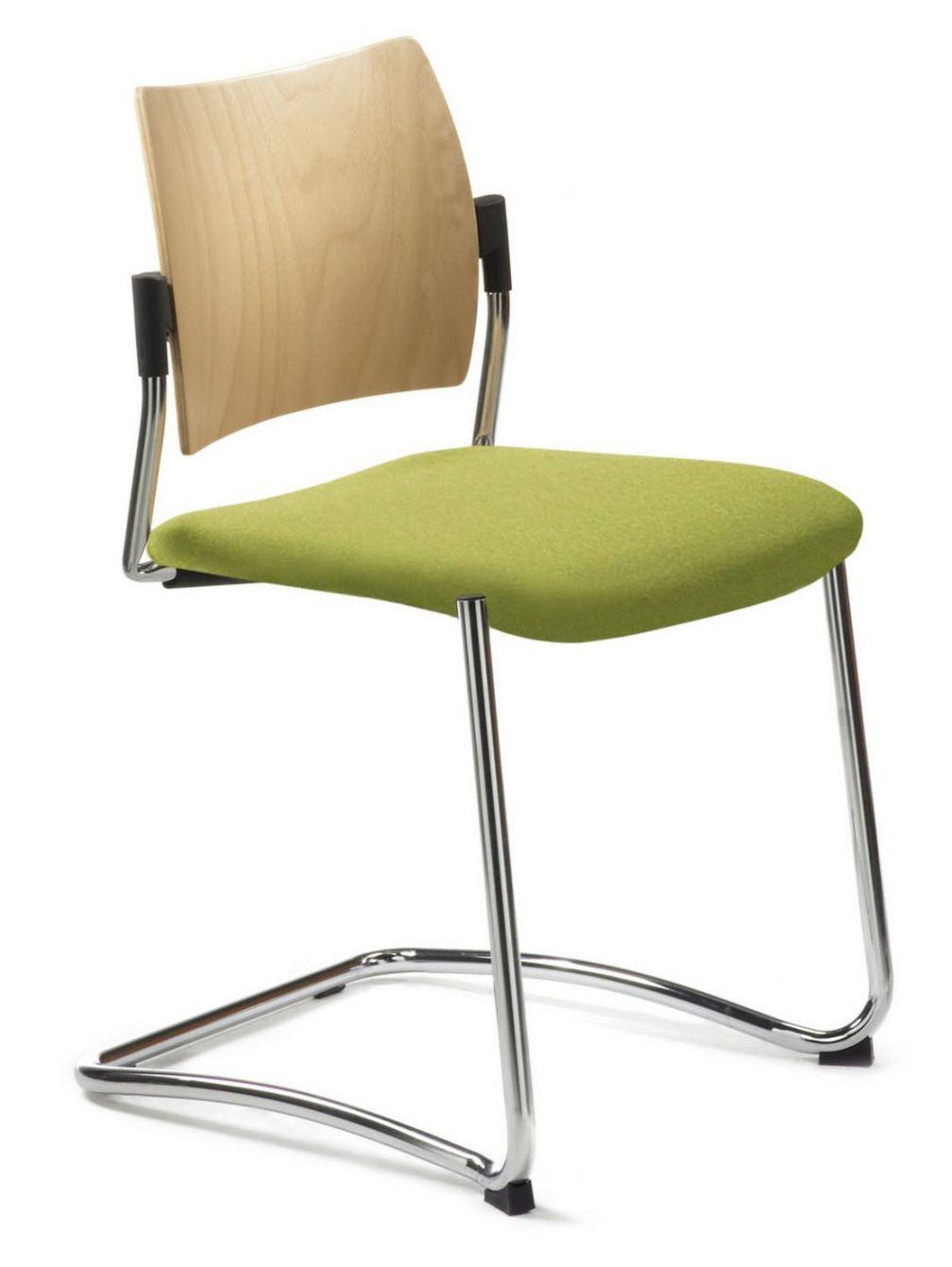 stapelbarer Freischwinger Konferenzraum-Stuhl